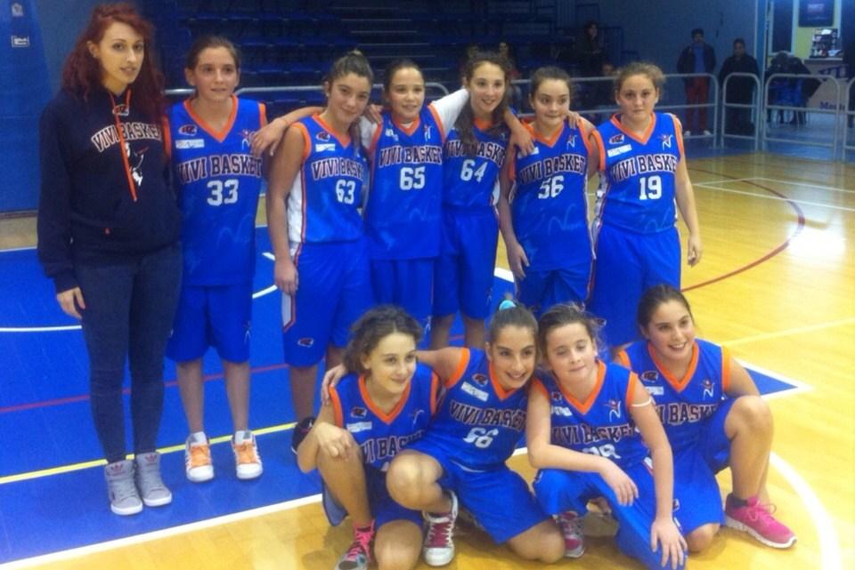 U13 Femminile: A Benevento vincono le streghette di Vivi Basket
