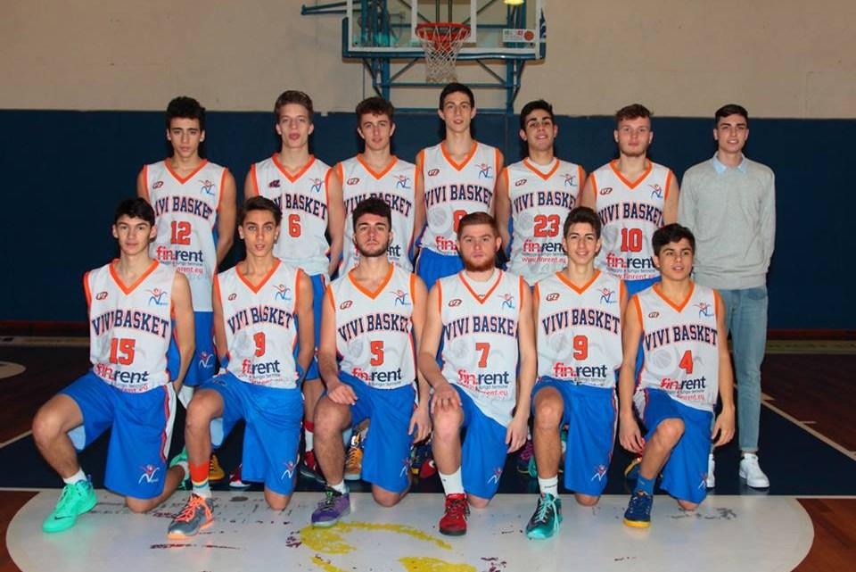 Under 17 Ecc: la Virtus Eurobasket Roma vince con Vivi Basket