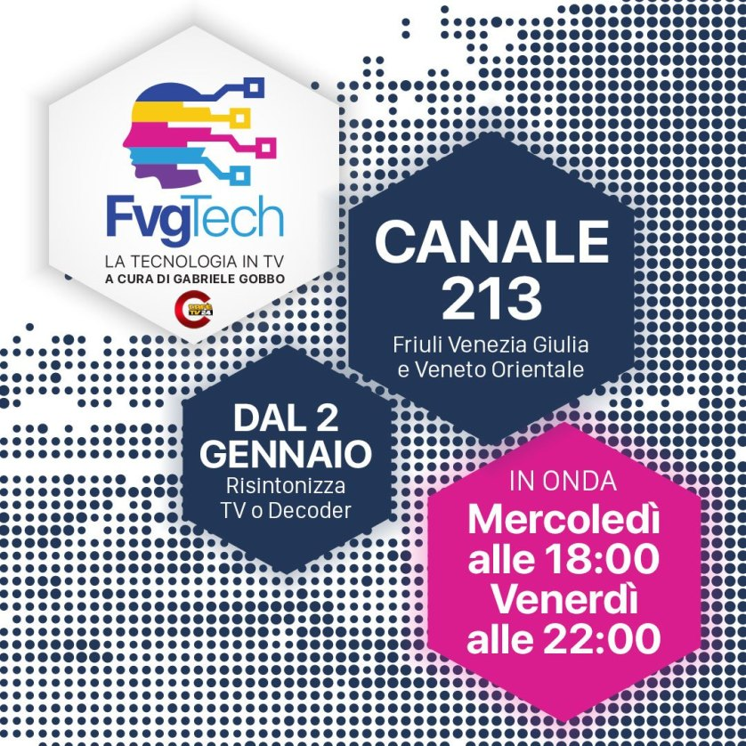 fvgtech programma tv canale 2013 cafetv24 gabriele gobbo Nasce FvgTech, il programma TV a cura di Gabriele Gobbo
