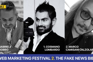 Nuova puntata del programma TV di Gabriele Gobbo, si parla di web marketing e fake news
