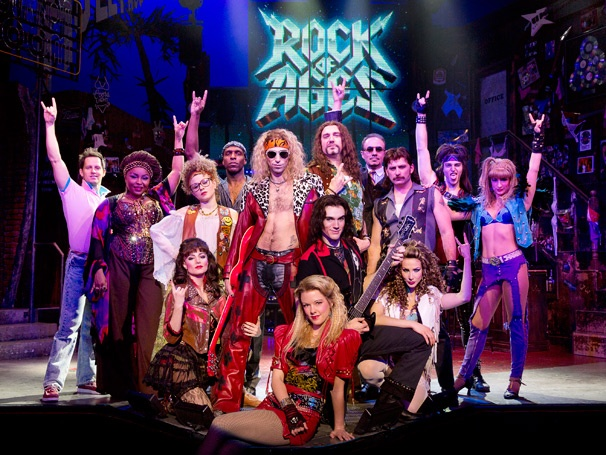 Rock of ages Broadway