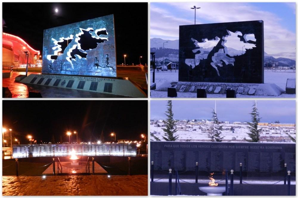 City Tour Ushuaia - Monumento Islas Malvinas