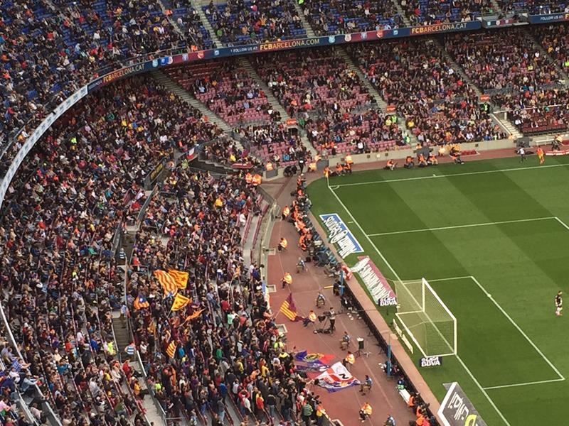 Torcida futebol Barcelona