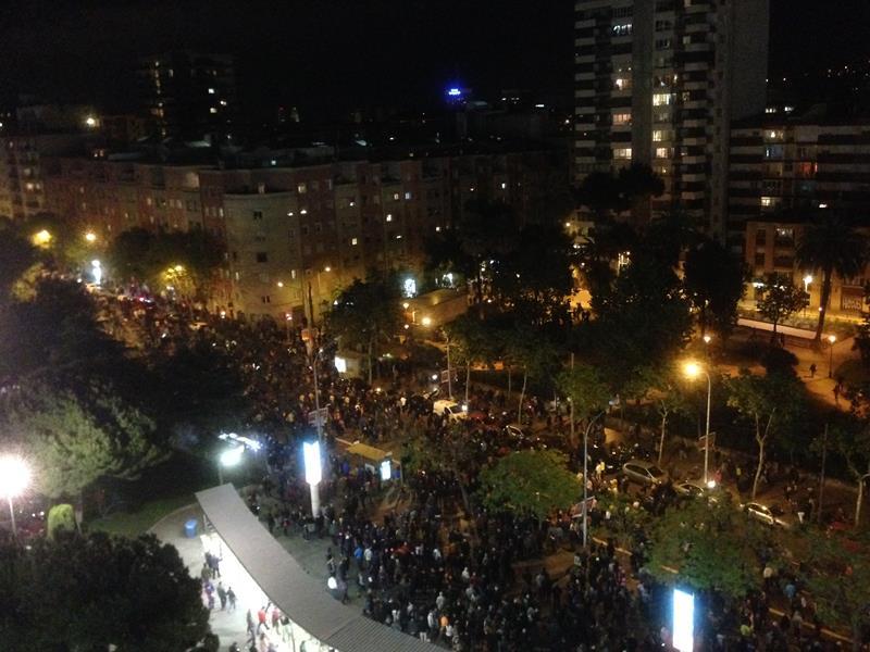 Torcida fora estádio Barcelona