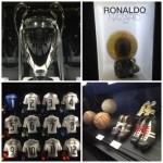 Tour Bernabéu - troféus e itens Real Madrid