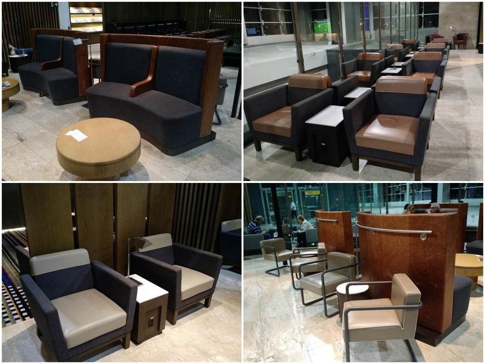 VIP Lounge Latam poltronas