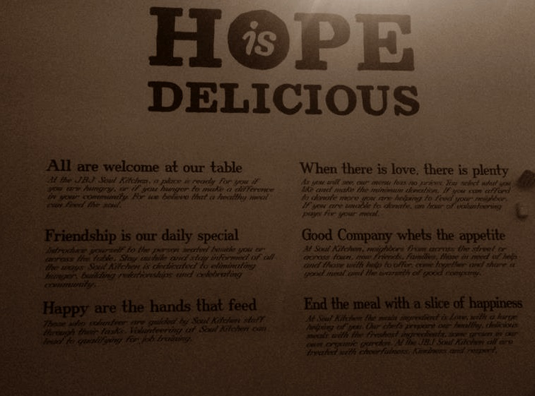 Filosofia restaurante Soul Kitchen Bon Jovi