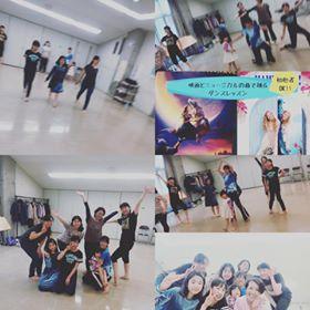 アラジンで踊るレッスン・ご好評のうち終了!|親子から大人まで楽しむダンスレッスン《レポ・感想付》2020年2月