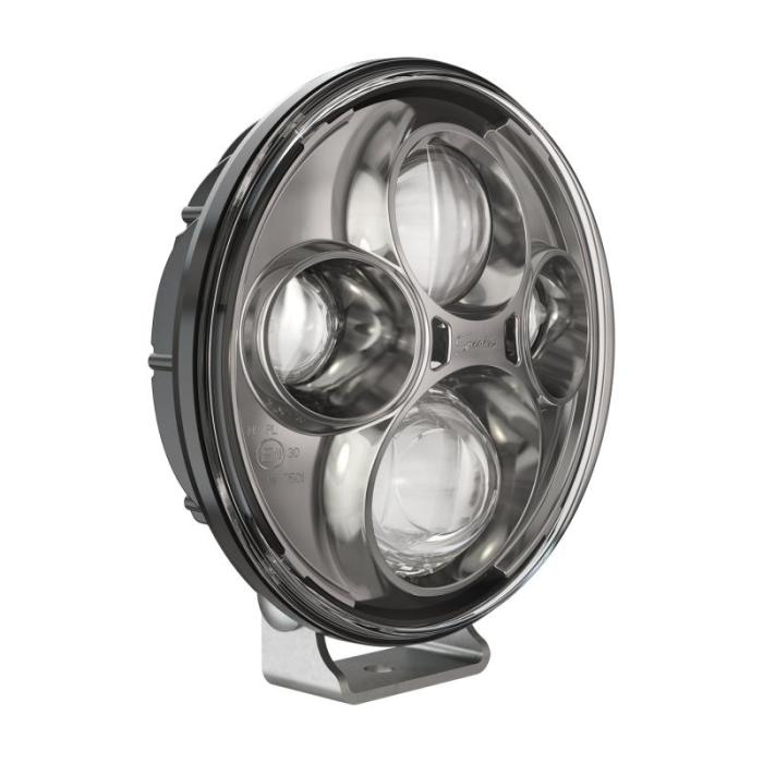 J.W. Speaker Model TS4000 LED Auxiliary Lights are 7'' round auxiliary lights designed for commercial truck & bus applications. Thin, lightweight design with high-output LEDs offers a convenient bright, white light with superior visibility. Impact resistant polycarbonate lens and heavy-duty, die-cast aluminum housing design deliver added durability, able to withstand shock and vibration for heavy-duty applications. J.W. Speaker specializes in the design and manufacture of vehicle lighting systems, proudly designed, manufactured & assembled in the U.S.A.Model TS4000 Auxillary Lamp 12-24V ECE Compliant LED High Beam with Chrome Inner Bezel & Pedestal MountFeatures7'' round LED auxiliary lamp; High beam pattern; ECE-compliant; High-output LEDs; Die-cast aluminum housing; Chrome inner bezel; Pedestal MountNotes:Universal Fitment: These products should work with your vehicle as they are universal for fitment.  We do recommend the customer researches and does due diligence regarding application.  This should help confirm that this will work for your vehicle.