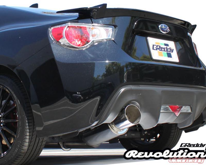 greddy revolution rs catback exhaust system toyota gt 86 2013 2021