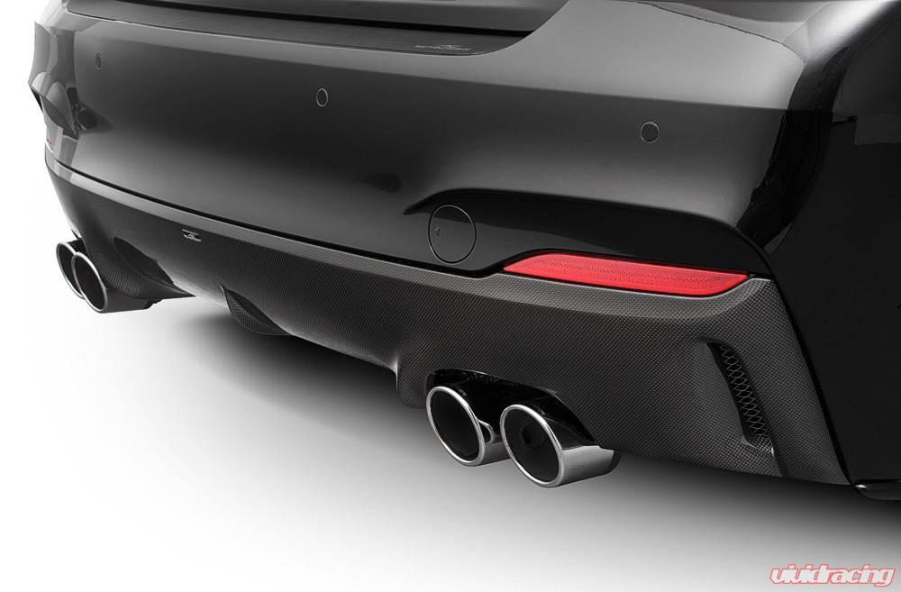 ac schnitzer quad sport exhaust tail pipes bmw g30 g31 530d 540d m550d