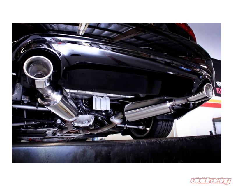 stillen stainless steel axle back exhaust system infiniti q50 14 15
