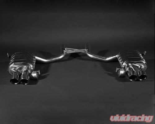 capristo oem valve controlled exhaust no remote maserati quattroporte 04 12