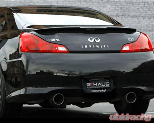 meisterschaft stainless gts ultimate exhaust 2x130mm round tips infiniti g37 ipl coupe 11 13