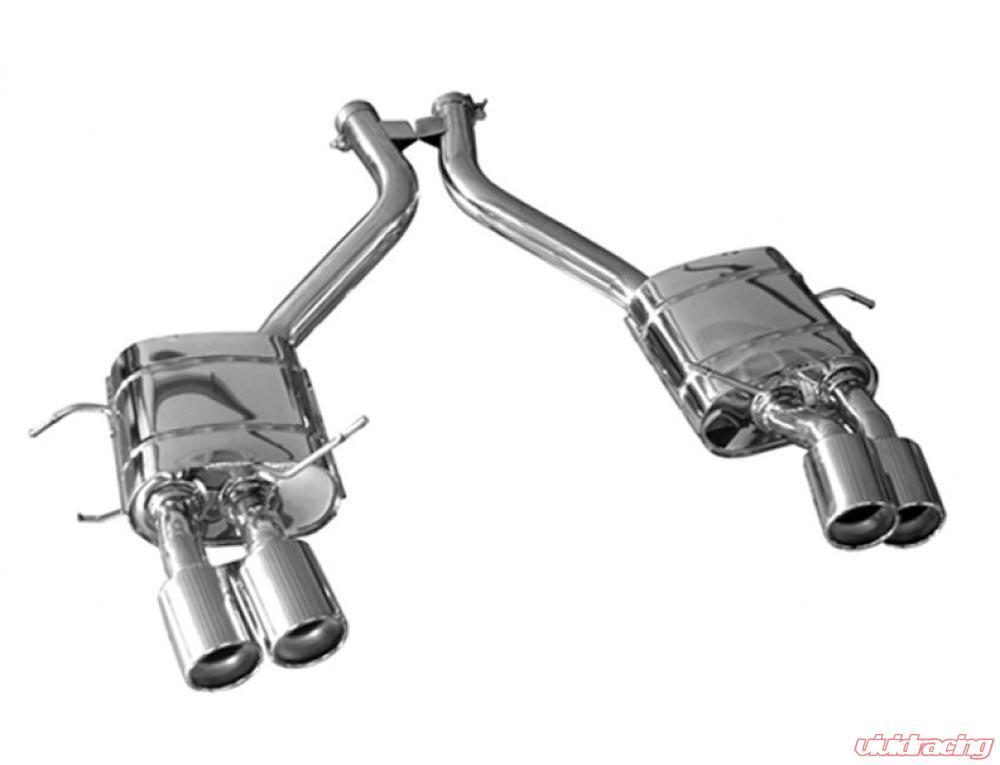 tubi style loud exhaust system maserati quattroporte v m139 03 12