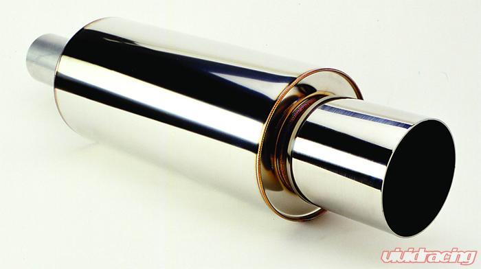 hks exhaust tip 119mm od 140mm length nissan 350z 03 09