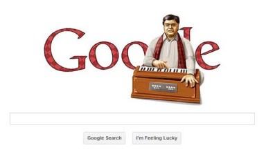 google doodle jagjit singh
