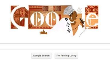 Google Doodle Miriam Makeba