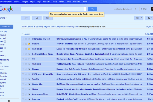 gmail blue