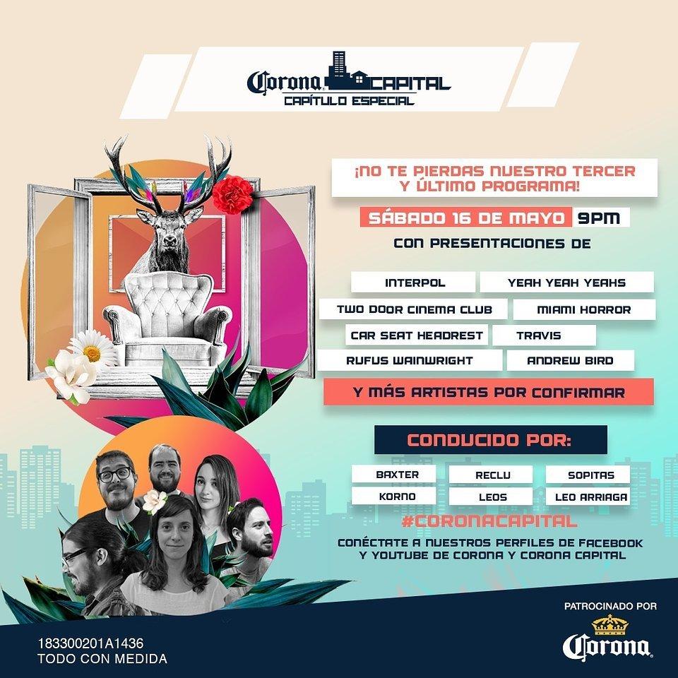 Interpol-Yeah-Yeah-Yeahs-Capítulo-Especial-Festival-Capital-este-fin-de-semana 12/05/20