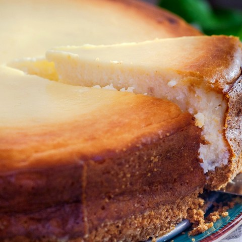 Receta para tarta de queso con zarzamora, muy fácil de hacer