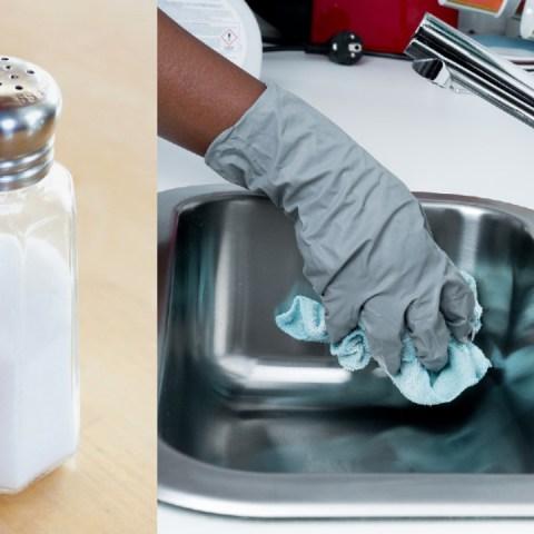 Usos de la sal para la limpieza del hogar que seguro no conoces