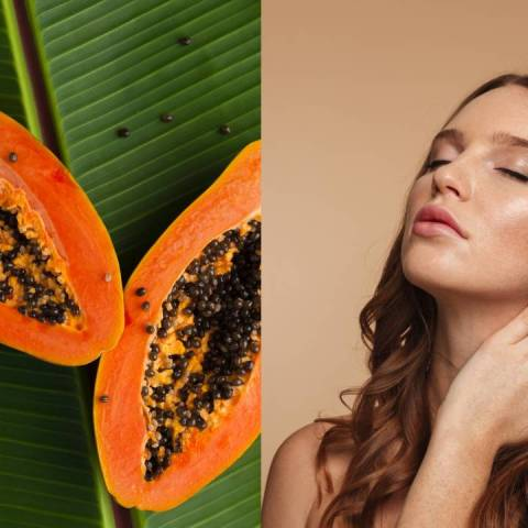 mascarilla papaya