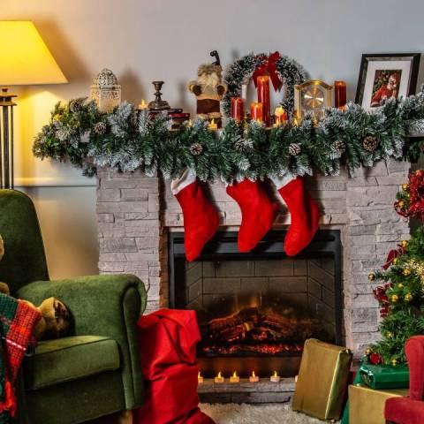 decoración de Navidad para casas y departamentos pequeños