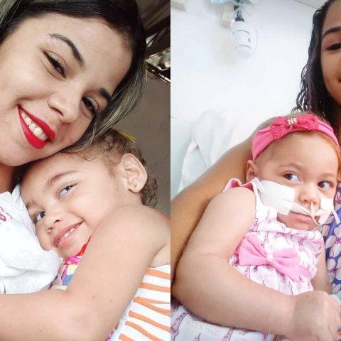 Bruna felix la joven que adopto a una bebe maltratada y con paralisis cerebral