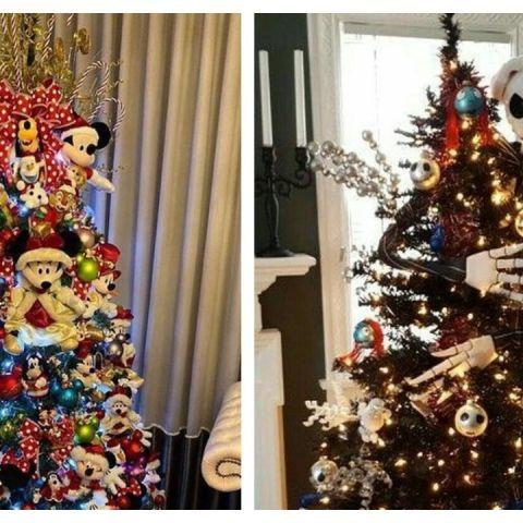 ideas de decoracion para arbol de navidad disney