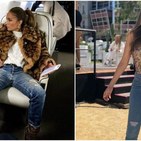 las mujeres de mas de 40 años si pueden usar jeans famosas lo demuestran
