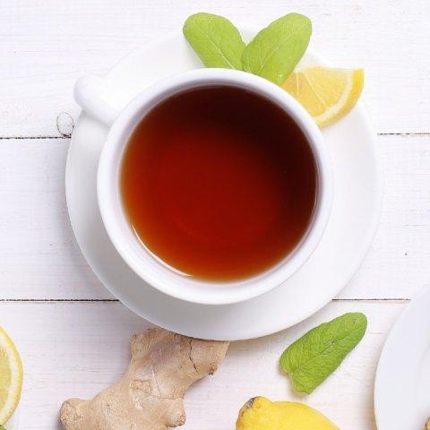 té jengibre y limón