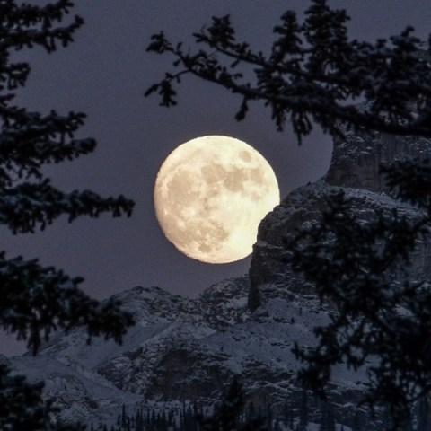 luna de nieve febrero 2021