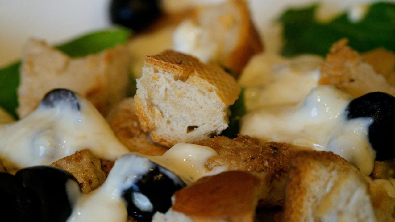 ensalada césar aderezo receta original tradicional clásica Caesar Cardini