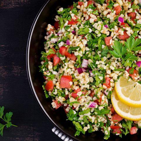 tabule ensalada libanesa receta cómo se hacer