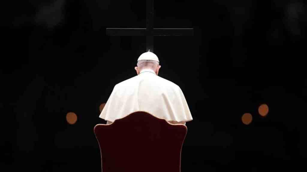 Domingo de Ramos 2021 Papa Francisco misa Basícila de San Pedro Vaticano Roma