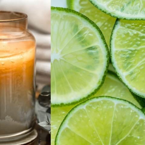 velas caseras olor a limón cómo se hacen