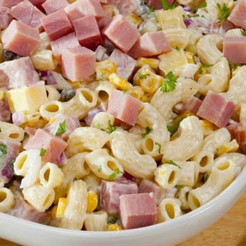 cómo hacer ensalada de coditos receta cremosa un kilo