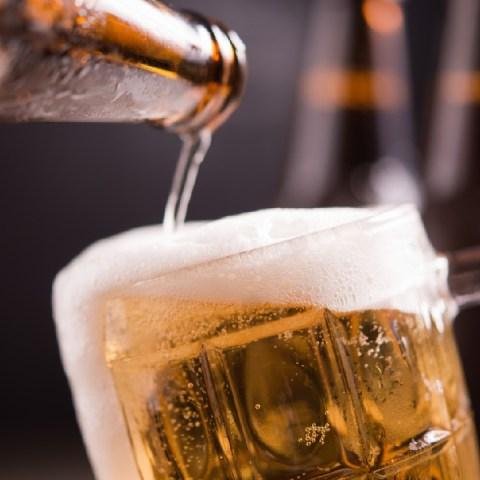 forma correcta de beber cerveza chela