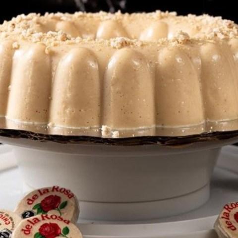 gelatina de mazapán receta fácil
