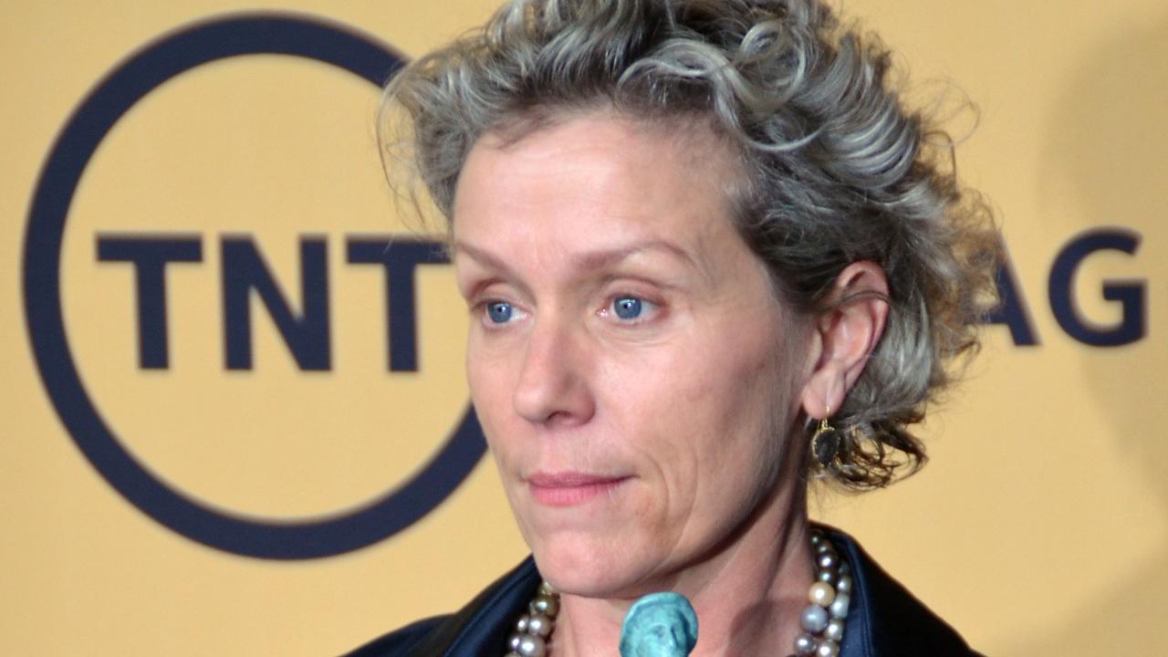 Frances McDormand premios sag awards atuendo