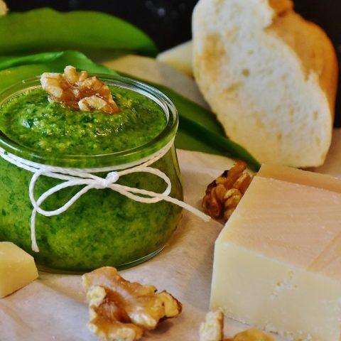 receta pesto albahaca como hacer salsa italiana casera
