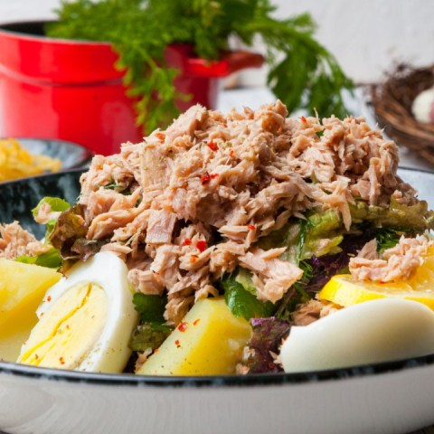 ensalada receta ensalada atún papa ensaladas