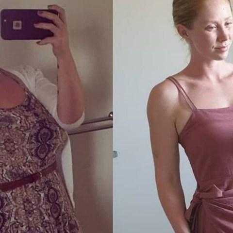 madre de familia pierde 60 kilos