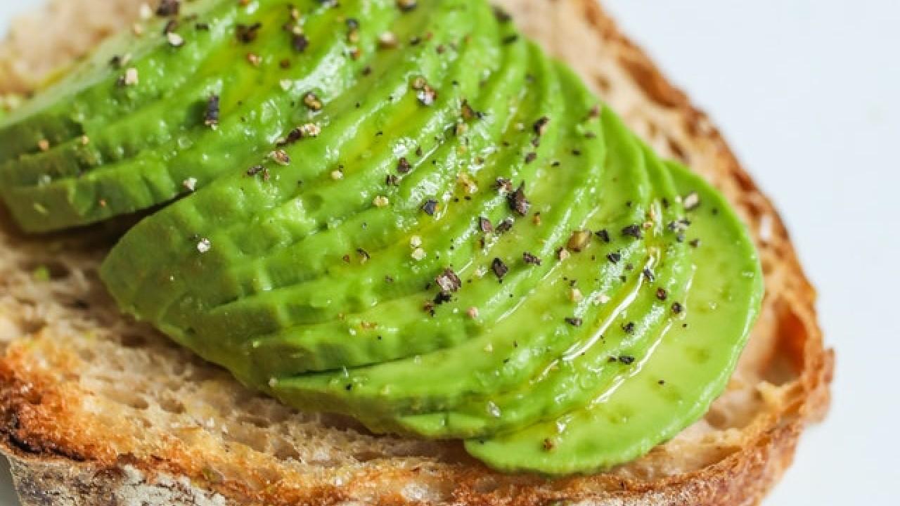pan con aguacate delicia textura color sabor