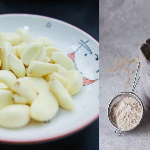 como hacer ajo en polvo casero ingredientes