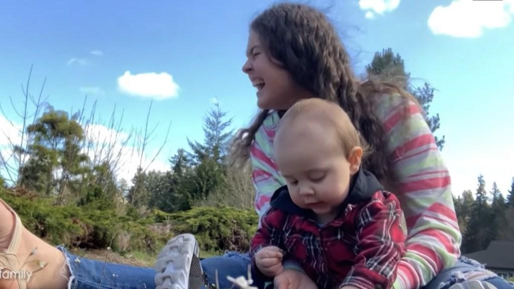 bebe tiene solo un año y sabe contar hasta ocho