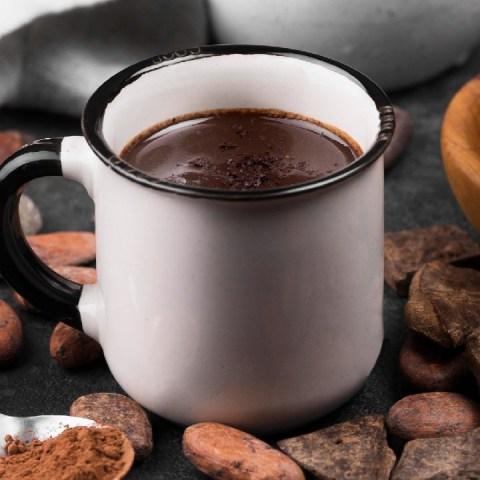 cómo hacer chocolate caliente espeso receta postre