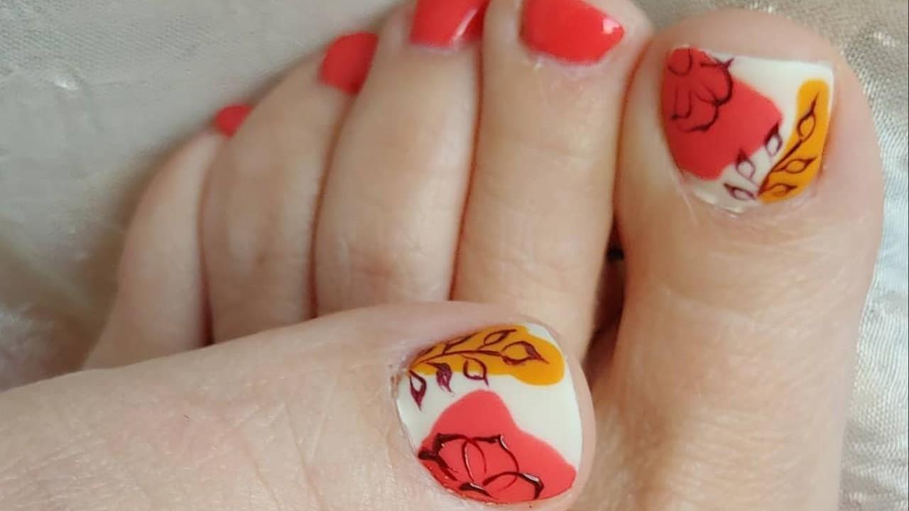 ideas para decorar las uñas de los pies