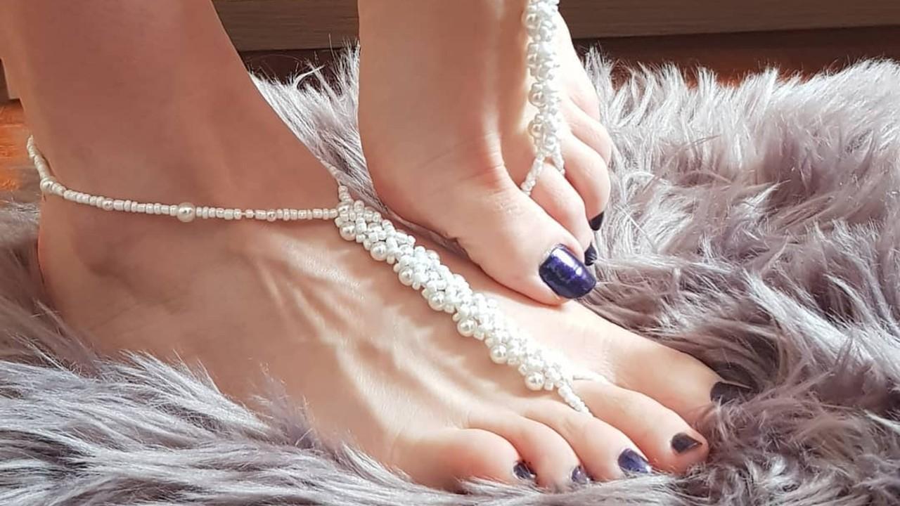 formas de decorar las uñas de los pies